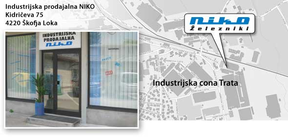 NIKO Factory Outlet in Skofja Loka